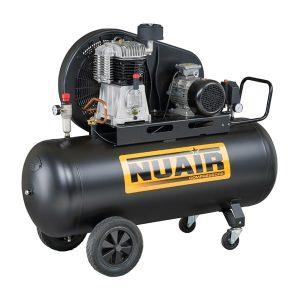 Remeňom poháňaný dvoj-stupňový kompresor NB5/5,5CT/270