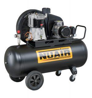 Remeňom poháňaný dvoj-stupňový kompresor NB7/7,5CT/270
